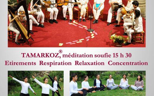 Atelier de Tamarkoz® et chant soufi à Versailles